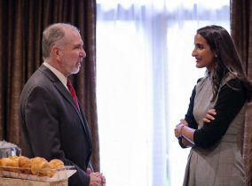 HE Sheikha Hind Meets University Presidents in US